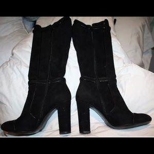 Versace Shoes - Versace Suede Boots 38